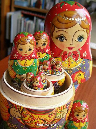фото матрешка русская